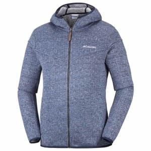 בגדי חורף קולומביה לגברים Columbia Boubioz Hooded Full Zip - כחול