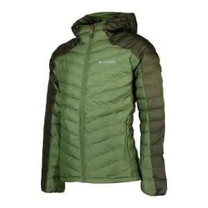 בגדי חורף קולומביה לגברים Columbia Horizon Explorer Hooded - אפור/ירוק