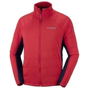 בגדי חורף קולומביה לגברים Columbia Alpine Traverse - אדום