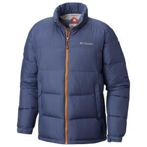בגדי חורף קולומביה לגברים Columbia Pike Lake - כחול/כתום