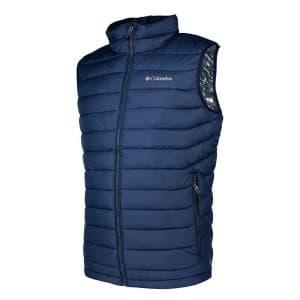בגדי חורף קולומביה לגברים Columbia Powder Lite Vest - כחול