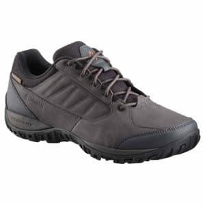 נעלי הליכה קולומביה לגברים Columbia Ruckel Ridge Plus Waterproof - אפור כהה