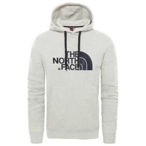 ביגוד דה נורת פיס לגברים The North Face Drew Peak Pullover Hood - אפור בהיר