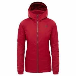 בגדי חורף דה נורת פיס לנשים The North Face Quest Insulated - אדום