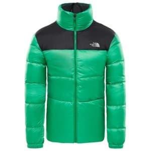 בגדי חורף דה נורת פיס לגברים The North Face Nuptse III - ירוק