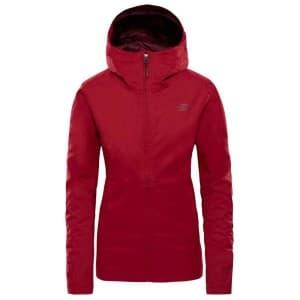 בגדי חורף דה נורת פיס לנשים The North Face Tanken Zip In - אדום