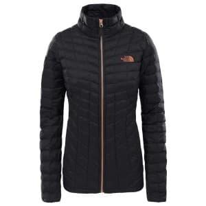 בגדי חורף דה נורת פיס לנשים The North Face Thermoball Full Zip - שחור