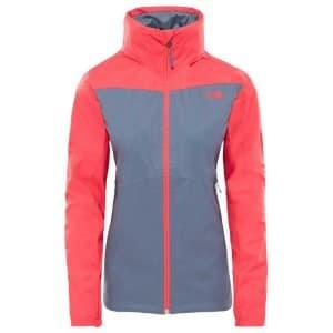 בגדי חורף דה נורת פיס לנשים The North Face Resolve Plus - אפור/ורוד