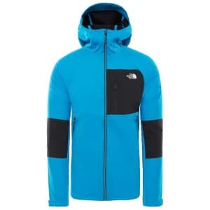 בגדי חורף דה נורת פיס לגברים The North Face Impendor Windwall Hoodie - כחול/שחור