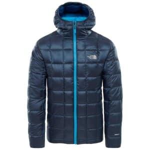 בגדי חורף דה נורת פיס לגברים The North Face Kabru Hooded Down - כחול