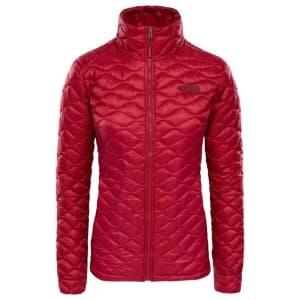 בגדי חורף דה נורת פיס לנשים The North Face ThermoBall Jacket - אדום