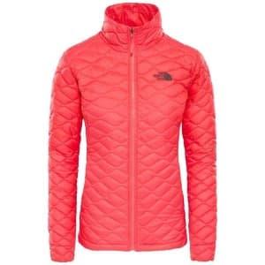 בגדי חורף דה נורת פיס לנשים The North Face ThermoBall Jacket - ורוד