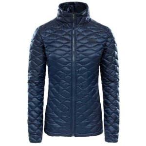 בגדי חורף דה נורת פיס לנשים The North Face ThermoBall Jacket - כחול