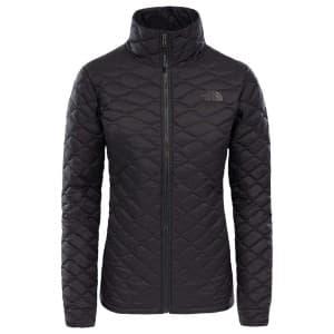בגדי חורף דה נורת פיס לנשים The North Face ThermoBall Jacket - שחור פחם