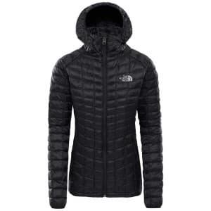 בגדי חורף דה נורת פיס לנשים The North Face ThermoBall Sport Hoodie - שחור