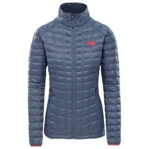 בגדי חורף דה נורת פיס לנשים The North Face ThermoBall Sport Jacket - אפור