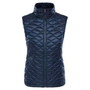בגדי חורף דה נורת פיס לנשים The North Face ThermoBall Vest - כחול