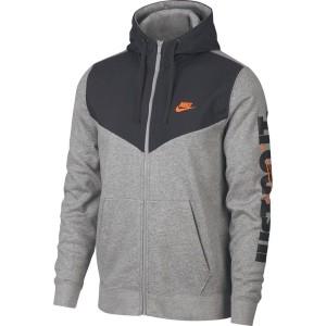 בגדי חורף נייק לגברים Nike HBR Just Do It - אפור