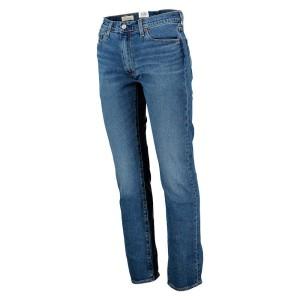 ביגוד ליוויס לגברים Levi's 513 Slim Straight Fit  - כחול