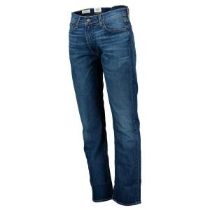 ביגוד ליוויס לגברים Levi's 513 Slim Straight Fit  - כחול כהה