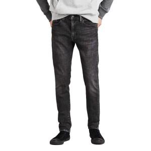ביגוד ליוויס לגברים Levi's 519 Extreme Skinny Fit  - כחול/לבן