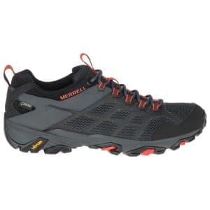 נעלי הליכה מירל לגברים Merrell Moab FST 2 Goretex - שחור/אדום