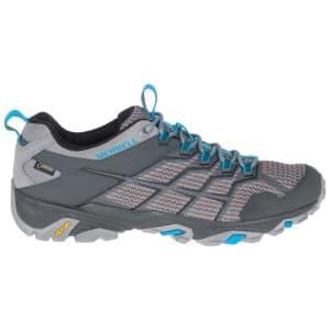 נעלי הליכה מירל לגברים Merrell Moab FST 2 Goretex - אפור בהיר