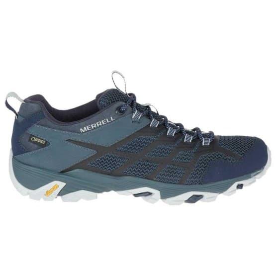 נעלי הליכה מירל לגברים Merrell Moab FST 2 Goretex - כחול/שחור