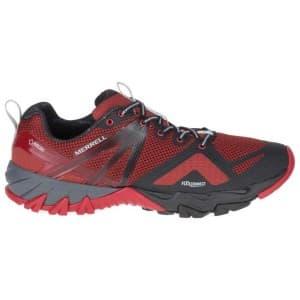 נעלי הליכה מירל לגברים Merrell MQM Flex Goretex - שחור/אדום