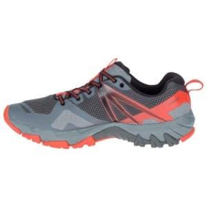 נעלי הליכה מירל לגברים Merrell MQM Flex Goretex - אפור/אדום