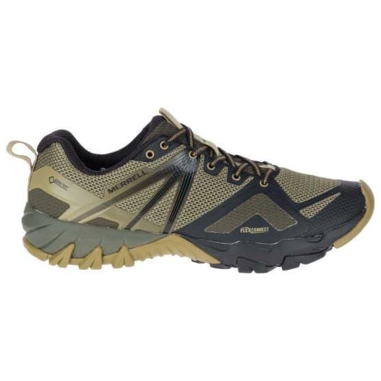 נעלי הליכה מירל לגברים Merrell MQM Flex Goretex - שחור/ירוק
