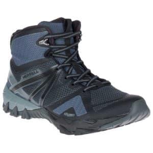 נעלי הליכה מירל לגברים Merrell MQM Flex Mid - אפור/שחור