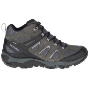 נעלי טיולים מירל לגברים Merrell Outmost Mid - אפור