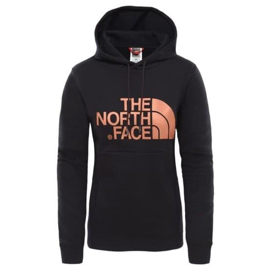 בגדי חורף דה נורת פיס לנשים The North Face Drew Hoody - שחור הדפס