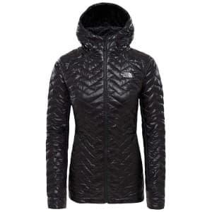 בגדי חורף דה נורת פיס לנשים The North Face Primaloft Hybrid Hoody - שחור