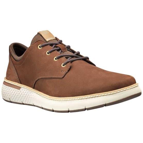 נעליים טימברלנד לגברים Timberland CrossMark Plain Toe Oxford - חום