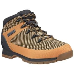 נעלי טיולים טימברלנד לגברים Timberland Euro Sprint Fabric - כתום/שחור
