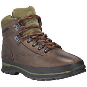 נעלי טיולים טימברלנד לגברים Timberland Euro Hiker SF Leather - חום/ירוק