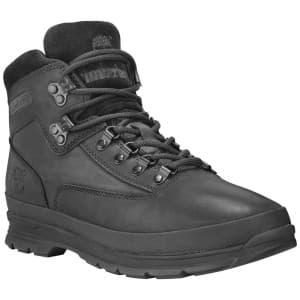 נעלי טיולים טימברלנד לגברים Timberland Euro Hiker SF Leather - שחור
