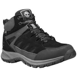 נעלי טיולים טימברלנד לגברים Timberland Sadler Pass Mid Goretex - שחור/אפור