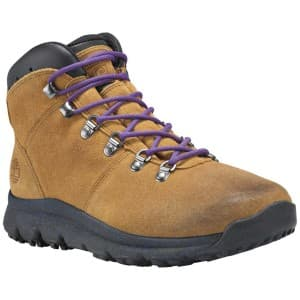 נעלי טיולים טימברלנד לגברים Timberland World Hiker Mid - חום