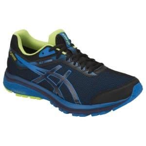 נעליים אסיקס לגברים Asics GT 1000 7 Goretex - כחול/צהוב