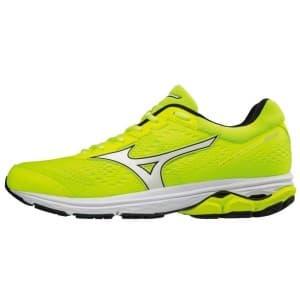 נעליים מיזונו לגברים Mizuno Wave Rider 22 - צהוב/שחור