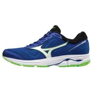 נעליים מיזונו לגברים Mizuno Wave Rider 22 - כחול/ירוק