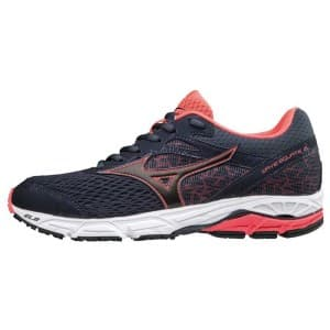 נעליים מיזונו לנשים Mizuno Wave Equate 2 - כחול כהה/ורוד