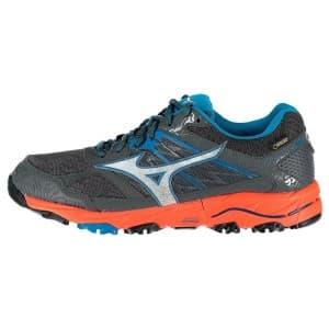 נעליים מיזונו לגברים Mizuno Wave Mujin 5 Goretex - אפור