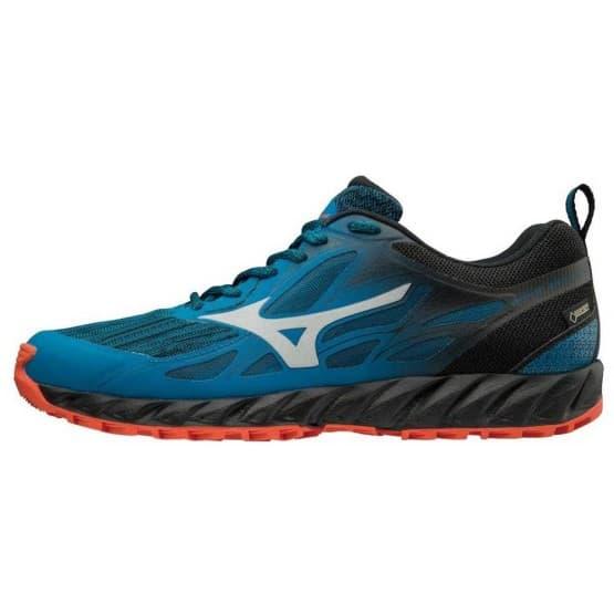 נעליים מיזונו לגברים Mizuno Wave Ibuki Goretex - כחול/שחור