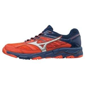 נעליים מיזונו לגברים Mizuno Wave Mujin 5 - כחול/אדום