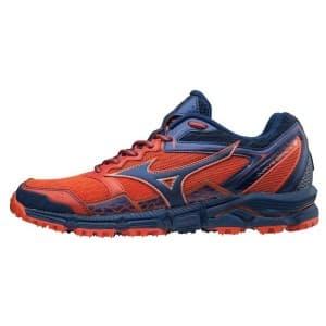 נעליים מיזונו לגברים Mizuno Wave Daichi 3 - כחול/אדום