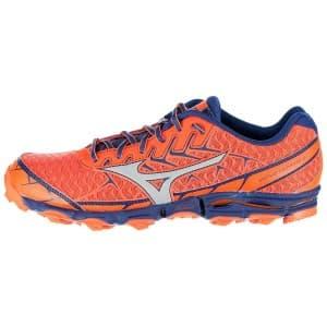 נעליים מיזונו לגברים Mizuno Wave Hayate 4 - כתום/סגול